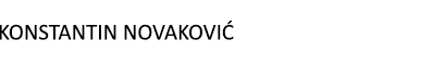 Konstantin Novaković